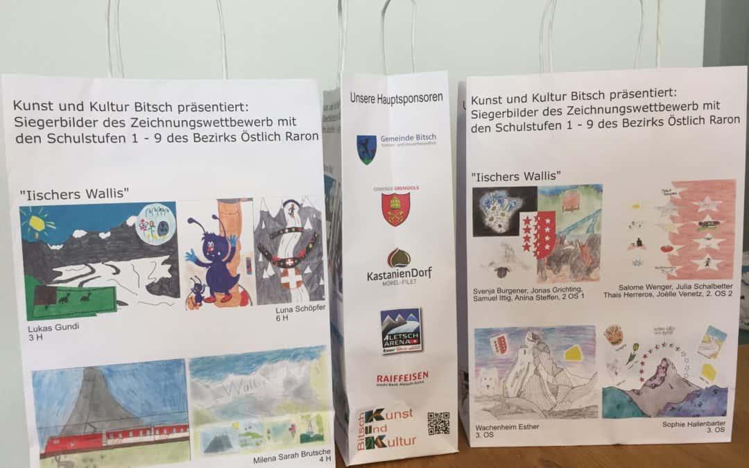 """Zeichnungswettbewerb """"Iischers Wallis"""""""